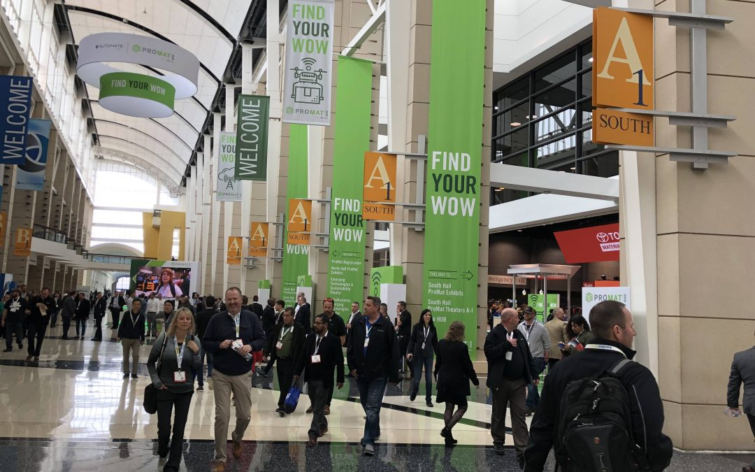 ProMat 2019 Day 3 – The Smart Factory and Supply Chain is Here