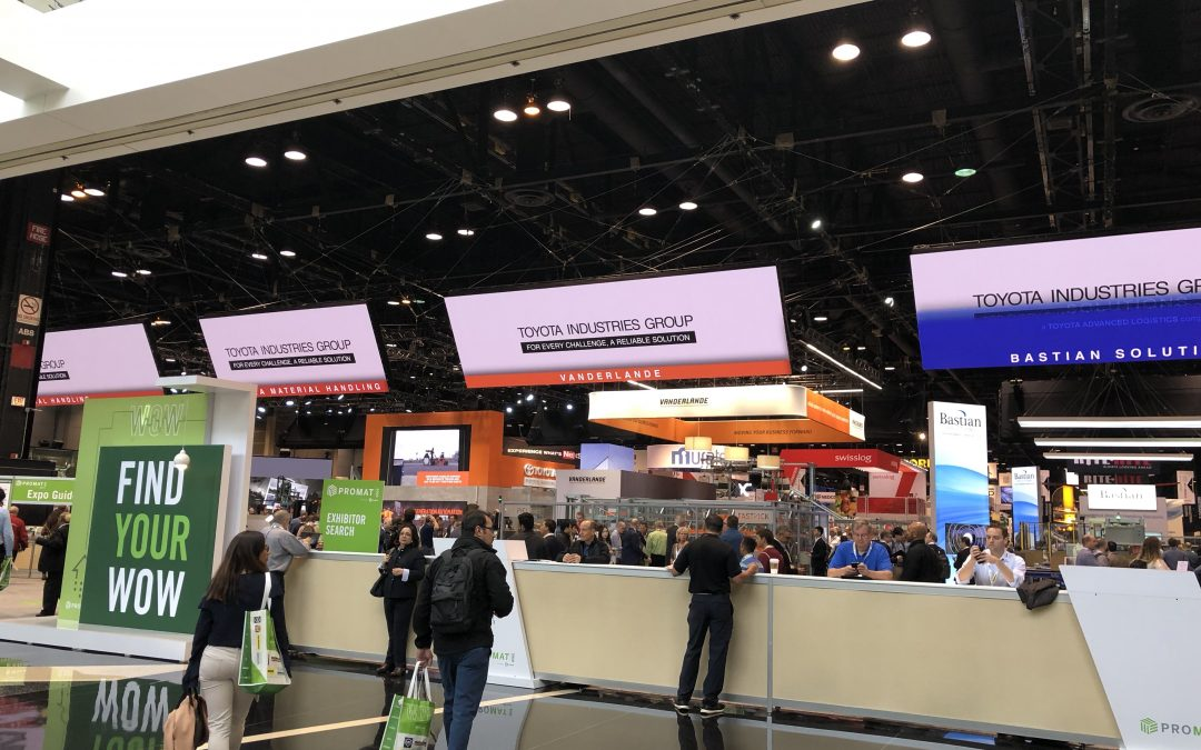 Opening Day at ProMat 2019 in Chicago