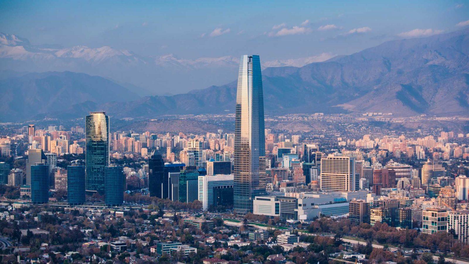 Santiago - Störst stad i Sydamerika